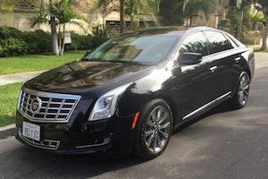 Cadillac XTS limo
