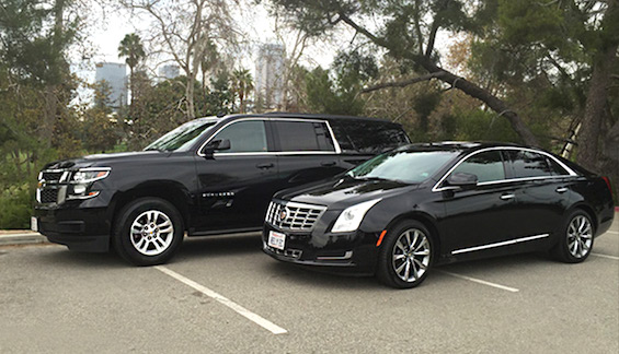 LAX limo service SUV and sedan