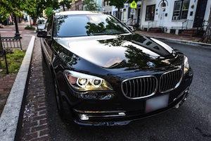 BMW limo